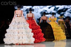 France - Alexander McQueen - Paris Fashion Week Womenswear Spring / Summer 2013