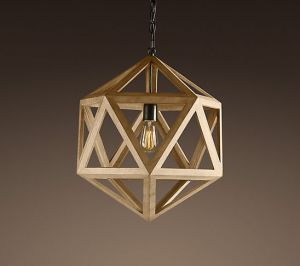 restoration-hardware-wood-polyhedron-pendant