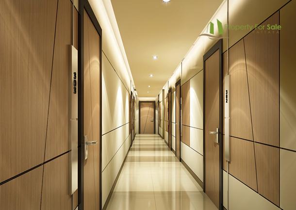 Beautiful Condo Corridors