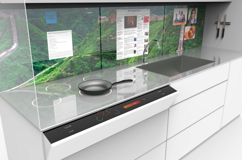 Kitchen Technology For Modern Kitchen Concept