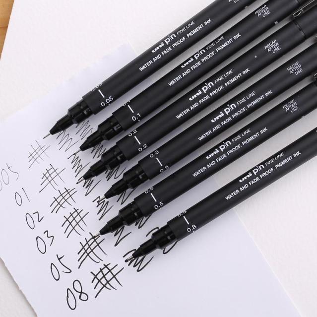 perfect-line-oily-waterproof-antidepilation-mitsubishi-unipin-needle-hook-6-3d-font-b-pen-b-font
