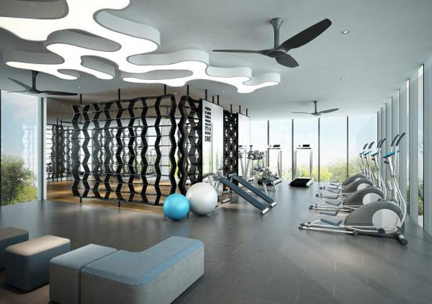 How is your gym's ceiling?