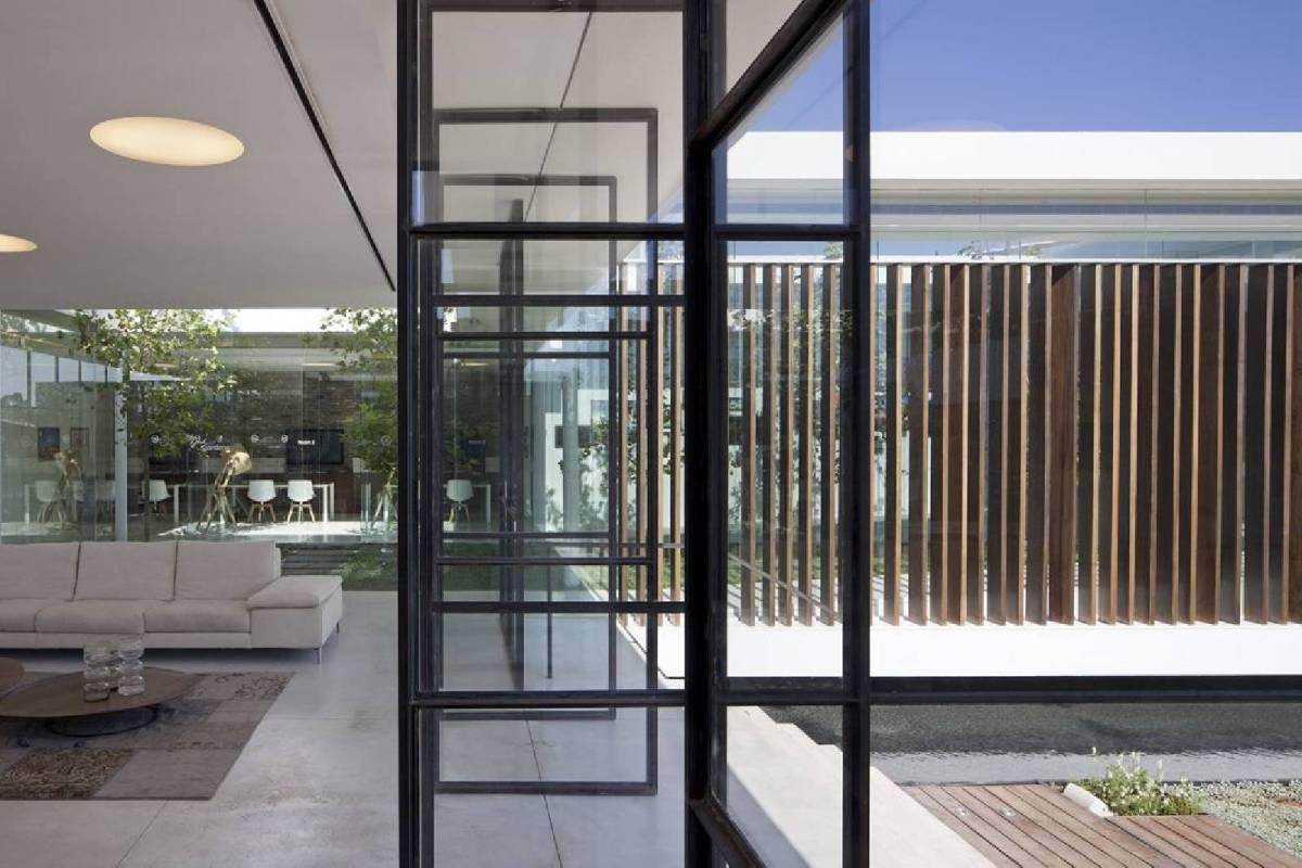 MODERN INDUSTRIAL, 16 ways to use steel doors
